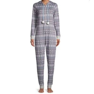 THE BAY: EMILY&JANE Warm and Cozy Hooded Coveralls